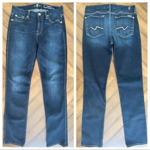 7 For All Mankind Karah Straight Leg Jeans